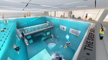 Y-40 tiefstes Schwimmbecken der Welt