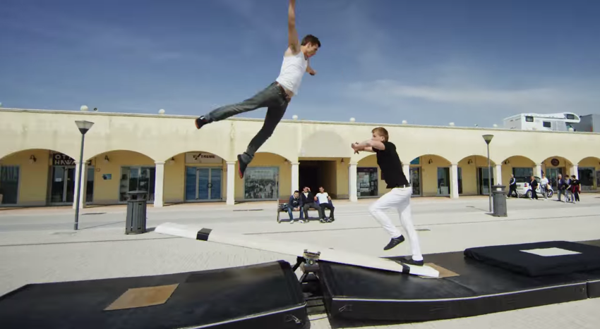 Teeterboard Stunts
