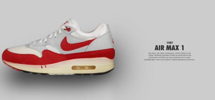 Nike Air Max 1 von 1987