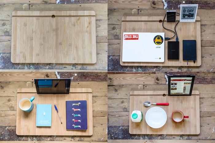 Portable Lap Desk Installation No. 1