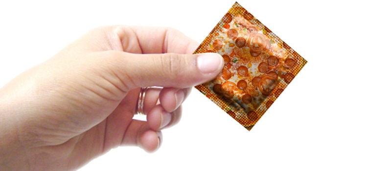 Pizza Kondom