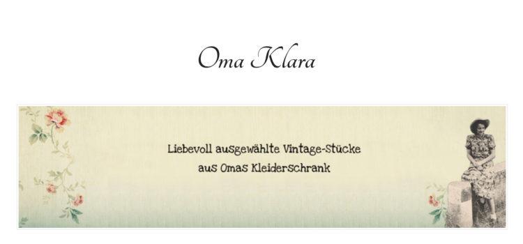 Oma Klara - Vintage Mode