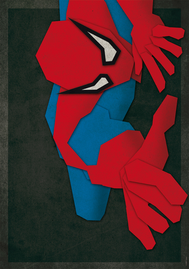 Paper Heroes by Grégoire Guillemin