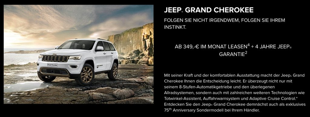 Jeep Grand Cherokee - Jeep Freedom Days