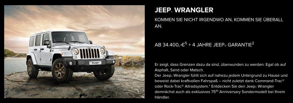 Jeep Wrangler - Jeep Freedom Days