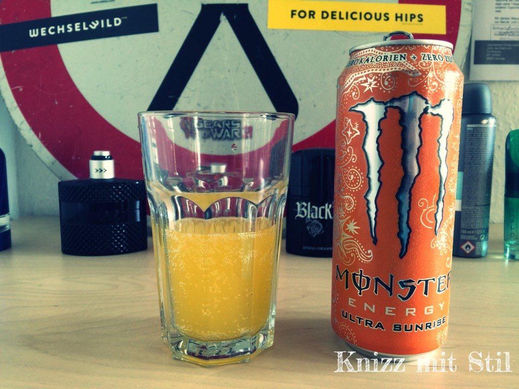 Monster Energy - Ultra Sunrise