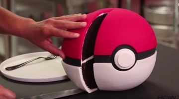 Pokémon - Pokéball-Kuchen Anleitung