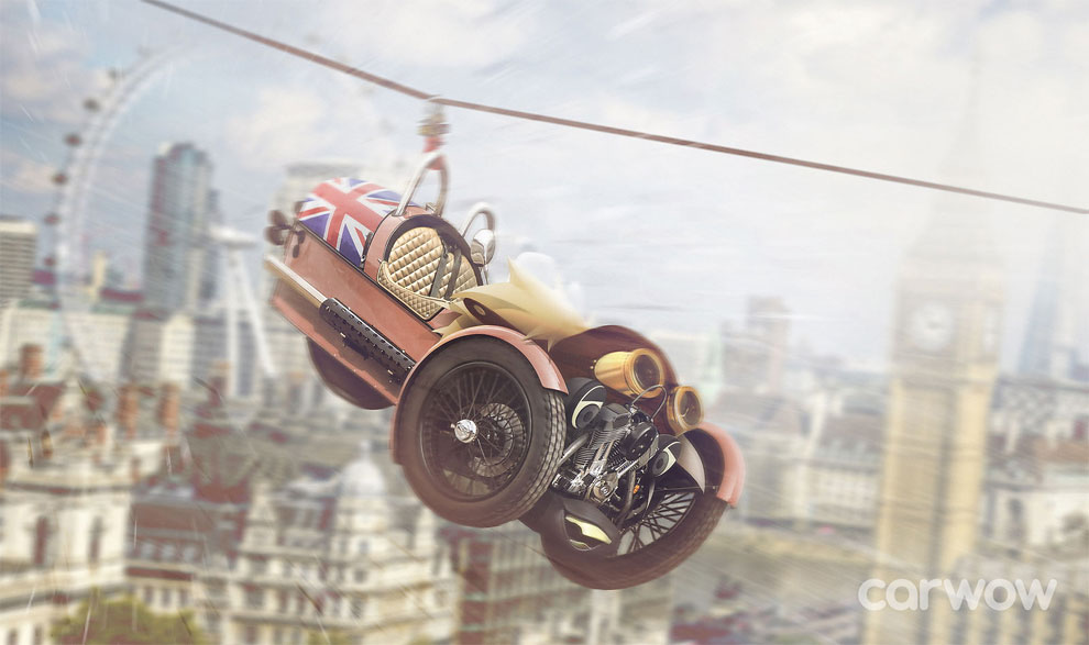 Carwow Boris Johnson – Morgan 3-Wheeler