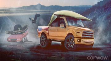 Donald Trump – Ford F150 Carwow