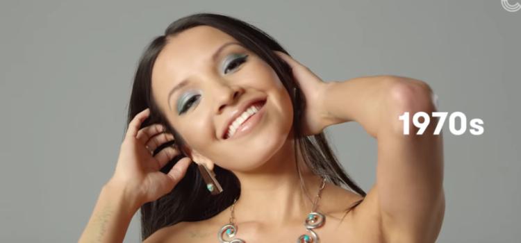 Schönheitsideale der letzten 100 Jahre - Navajo