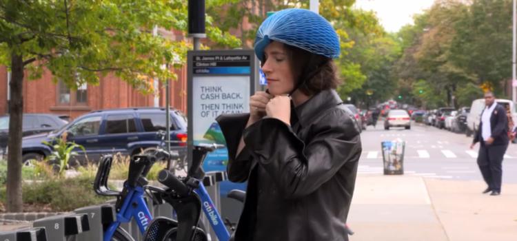 EcoHelmet - Fahrradhelm aus Papier