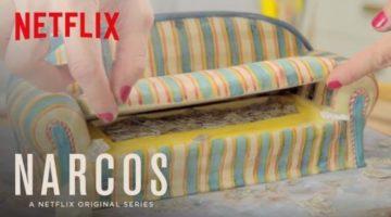 Netflix Narcos Couch Kuchen selbst backen (Anleitung)