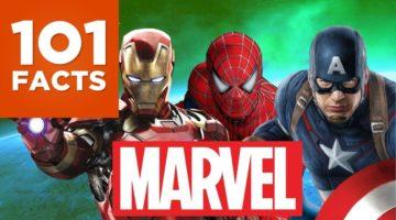 101 Fakten über Marvel