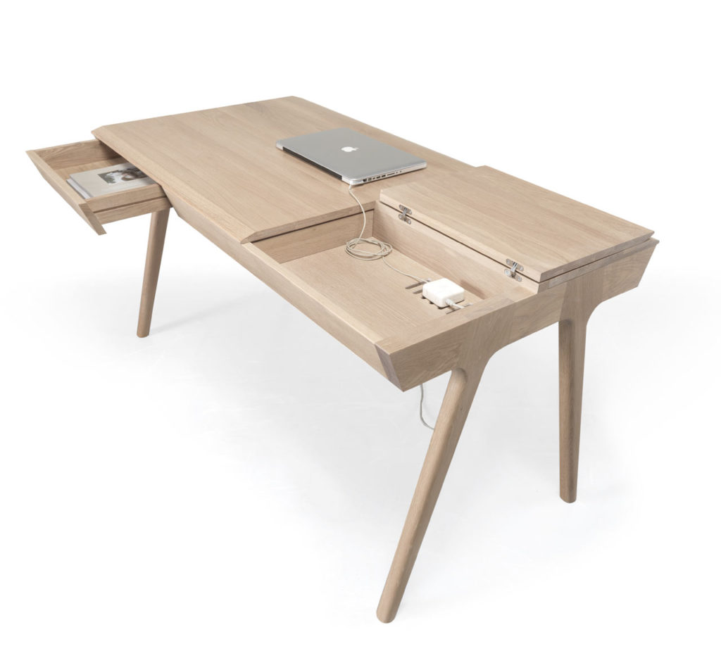 metis dieser schreibtisch bietet ordentlich stauraum knizz mit stil. Black Bedroom Furniture Sets. Home Design Ideas