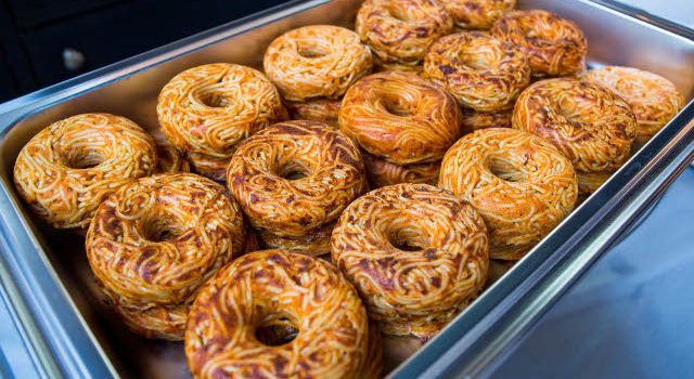 Spaghetti Donuts von Pop Pasta aus Brooklyn