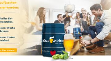 Braufässchen - Individuelles Bier zum selber brauen