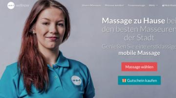 Wellnow Massagen nach Hause buchen