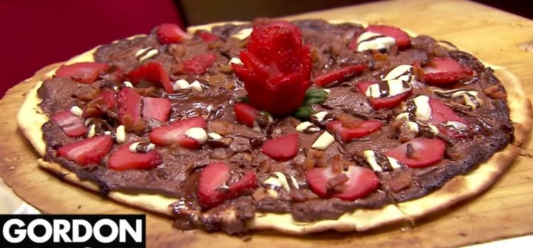 Gordon Ramsay - Pizza mit Schokolade und Bacon