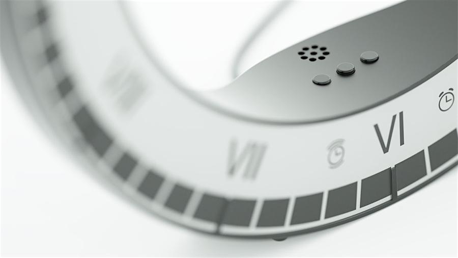 Only Clock von Kibardin Design